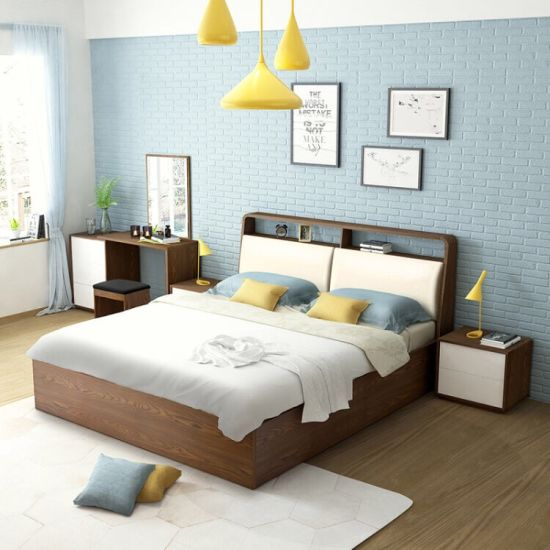 King   Plywood  Veneer Rollaway Bed (HX-8ND9528) pictures & photos