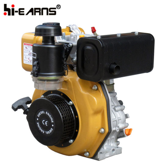 6HP Diesel Engine with Keyway Shaft Robin Color (HR178F) pictures & photos