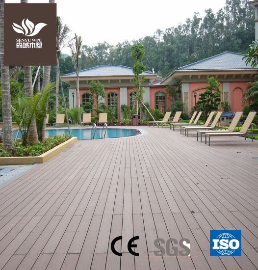 Environment-Protecting WPC Wood Plastic Hollow Flooring