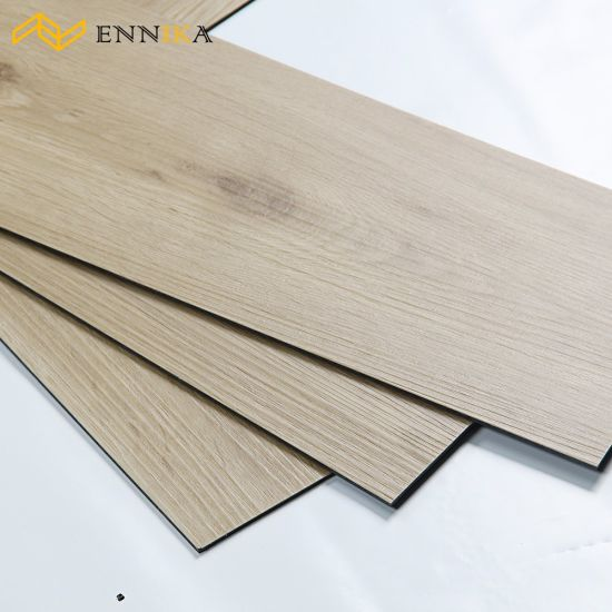 Fireproof Anti-Bacterial PVC Wood Embossing Vinyl Flooring Plank pictures & photos
