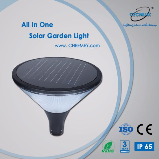 Aluminum Decorative Outdoor LED Solar Garden Light