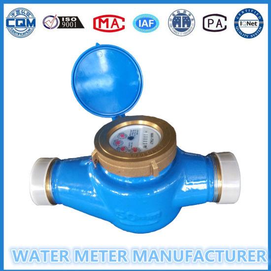 Dn50 Multi Jet Wheel Dry Dial Brass Body Smart Magnetic Water Meter