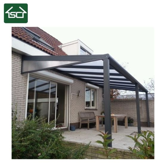 China Car Shed Design In Garage Aluminum Cover With Polycarbonate Roof China Car Shed Aluminum Cover