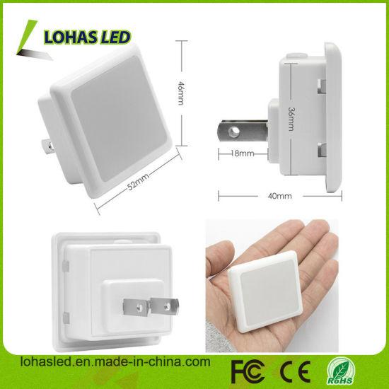 light Sensor 0 3W Automatic on off Night Light for Toilet Nursery Kids Hallway - led light sensor