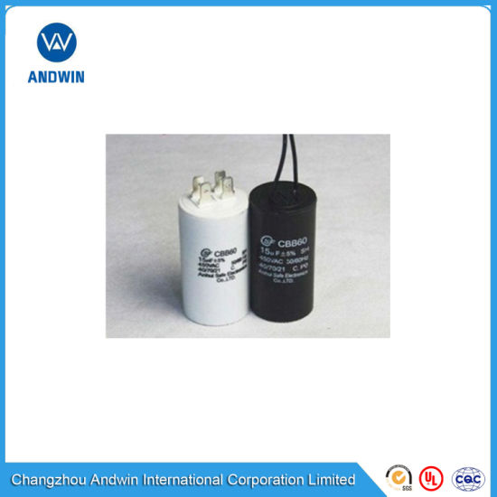 AC Motor Run and Start Capacitor for Air Conditioner