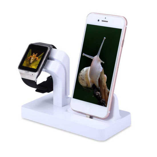 Power Stand Station Charger Holder for Apple Watch Iwatch iPhone 7 pictures & photos