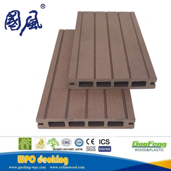 China Wpc New Waterproof Eco Friendly Wpc Floordecking Board