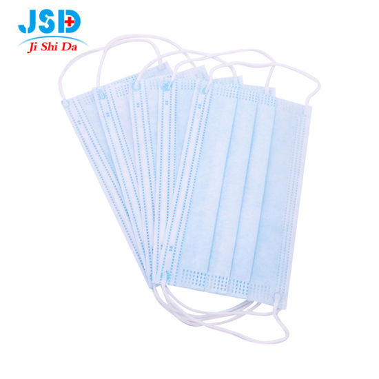 China High Quality 3ply Nonwoven 3 Layers Disposable Surgical Face Mask