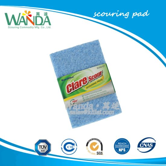 Non-Abrasive Scouring Pad Kitchen Cleaning Tools pictures & photos