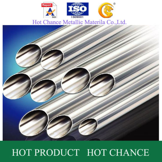 SUS201, 304, 316 180g Hairline Finished Stainelss Steel Tube pictures & photos