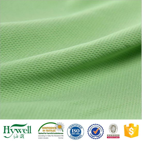 100% Polyester Knitting 75D/72f Bird Eye Mesh Fabric pictures & photos