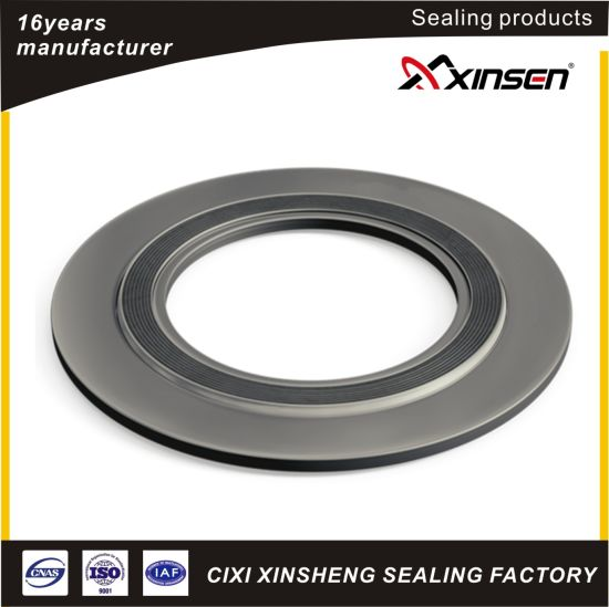 """10/"""" 150# Spiral Wound Gasket with Compression Ring"""