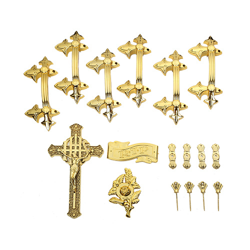 Coffin and Casket Handles Fittings Casket Hardware Coffin Screw Jesus Cross pictures & photos