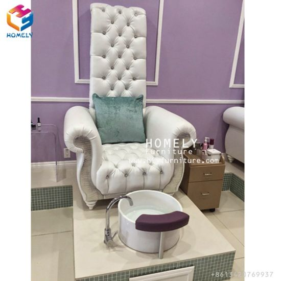 China Pipeless Whirlpool Spa Pedicure Chair Nail Salon Spa