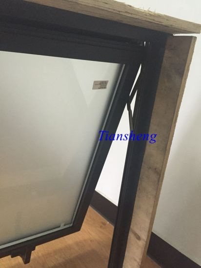 Customized High Quality Double Glazing Aluminum Top Hung Window pictures & photos