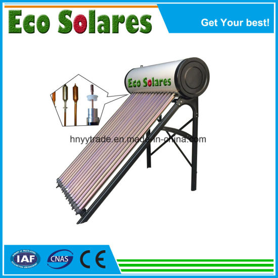 for Home/School/Hotel High Efficiency Pressurized Heat Pipe Solar Water Heater
