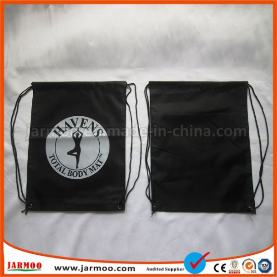 Promotional Nylon Wholesale Drawstring Bag pictures & photos
