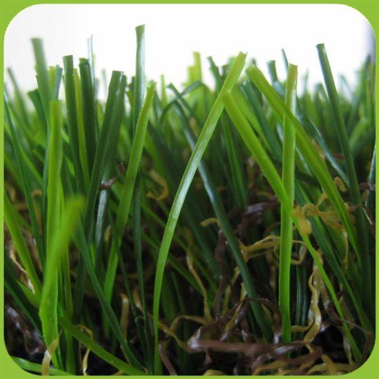 C Shape Landscaping Decoration Artificial Grass for Garden