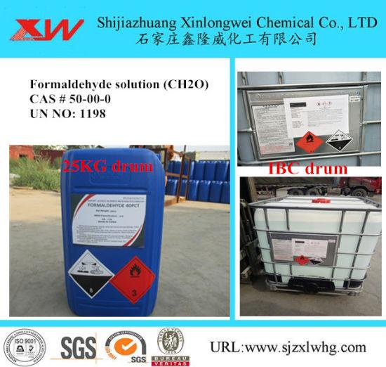 China HS Code: 2912110000 Formalin Solution CH2o - China
