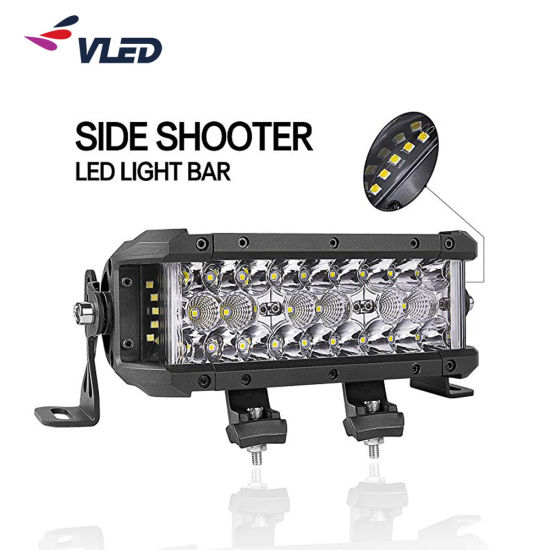 Brightsome Side Shooter LED Light Bar with IP69K SAE DOT for Truck Offroad