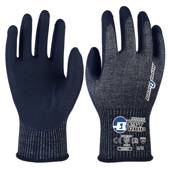 A4 13G Cut-Resistant Work Glove with Micro Foam Nitrile Coating on Palm