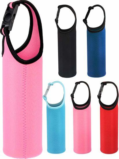 Neoprene Water Bottle Sleeve Portable Outdoor Bottle Cooler Cover Holder Strap