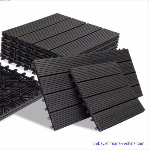 Home Garden WPC DIY Tiles 300mm*300mm*22mm