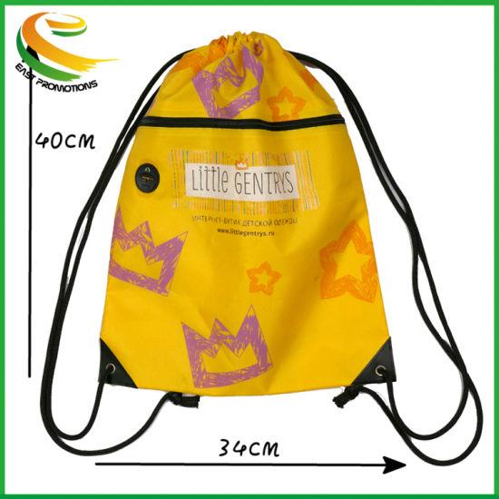 Personalised Drawstring Childrens Bag P. E Kit Boys Girls School College PE Kids