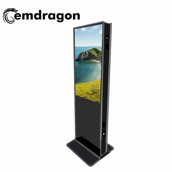 Digital Signage China Factory 55 Inch Floor Standing Double