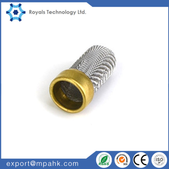 Brass Filter Mesh Strainer for Refrigeration Parts