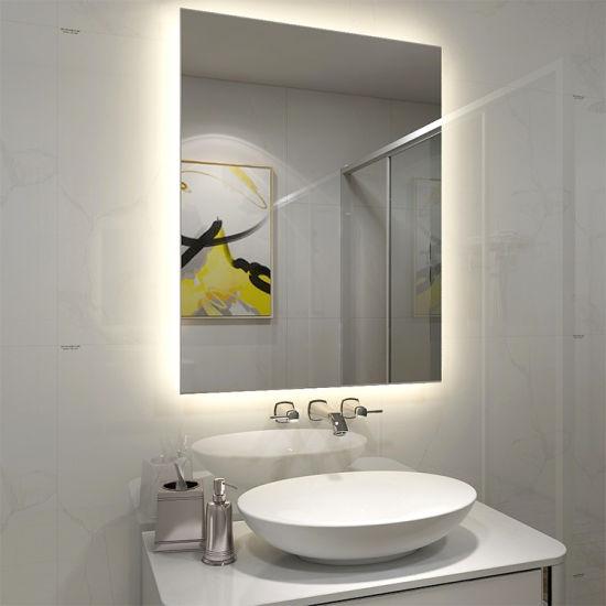 5mm Environmental Protection Glass Bathroom LED Light Mirror