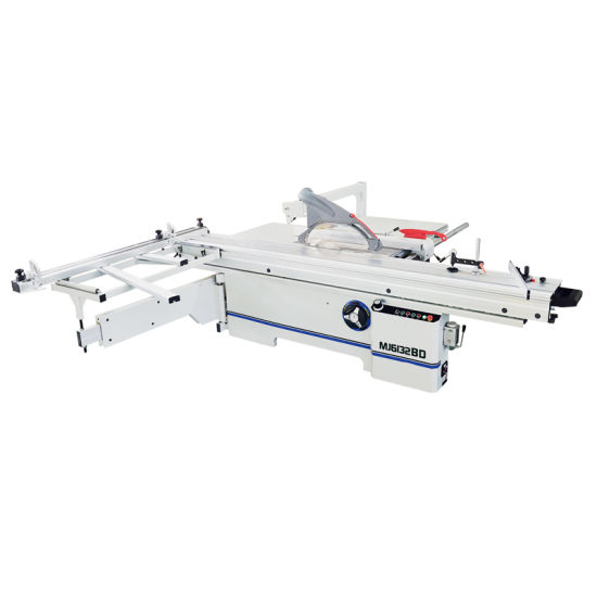 Wood Veneer MDF Board Cutting Machine Sliding Table Saw