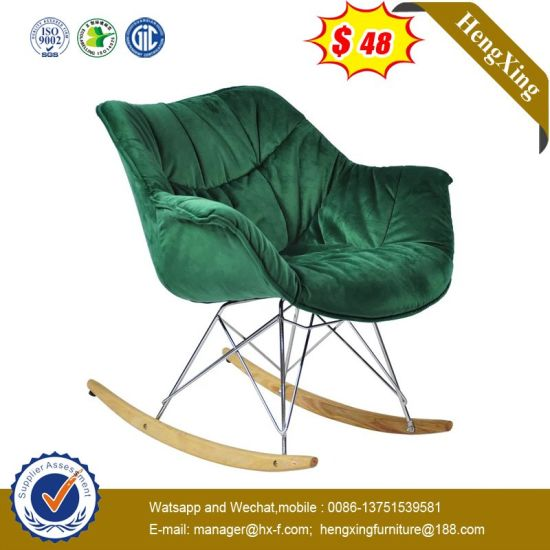 Modern Fabric Leather Hotel KTV Public Auditorium Leisure Waiting Chair Hx-9cn0277