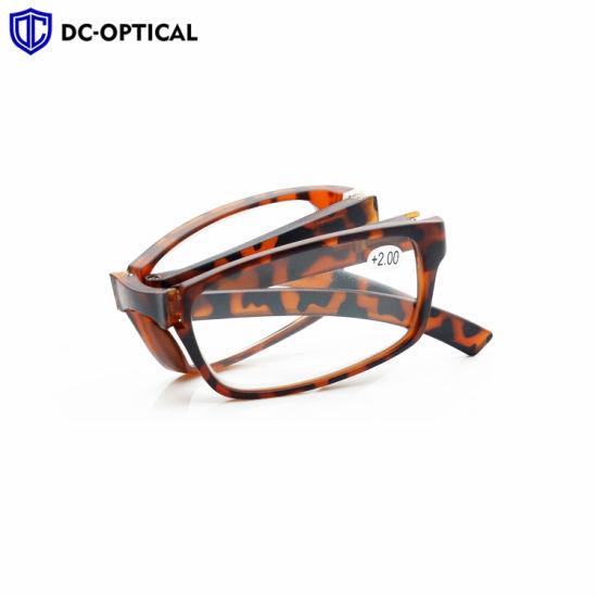 Plastic Frame Folding Reading Glasses 2019 New Style Optical Frames