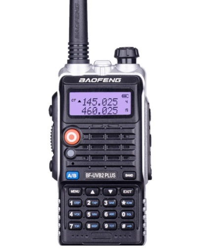 High Quality Baofeng Bf-UVB2plus Handy Amateur Radio FM Transmitter for  Radio Station