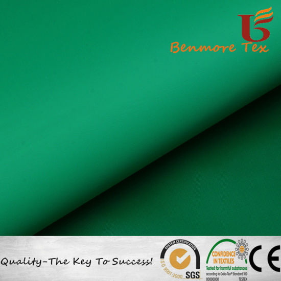 Waterproof Polyester Taffeta Fabric with PVC Coated for Bag, Raincoat, Umbrella pictures & photos