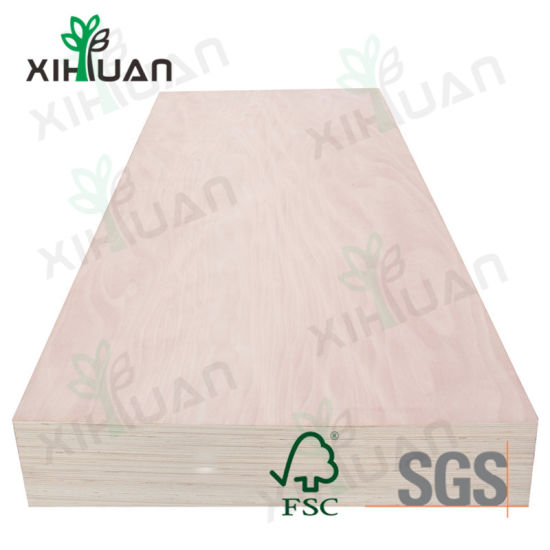 Chinese Factory Economically Recycled Plywood for Furniture