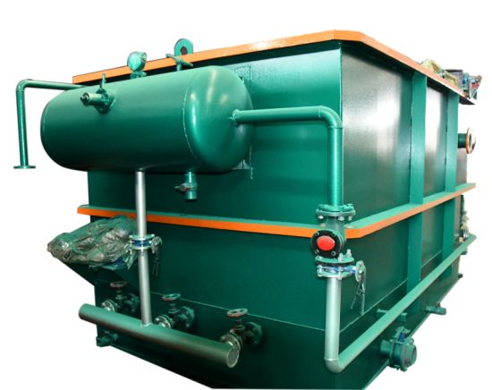 Dissolved Air Flotation System, Oil and Water Separator Treatment Plant