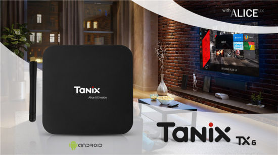 Allwinner Firmware Android 9.0 Smart TV Box Tanix Tx6 H6 4G 32g Stream Bt Mini 4K Android TV Box pictures & photos