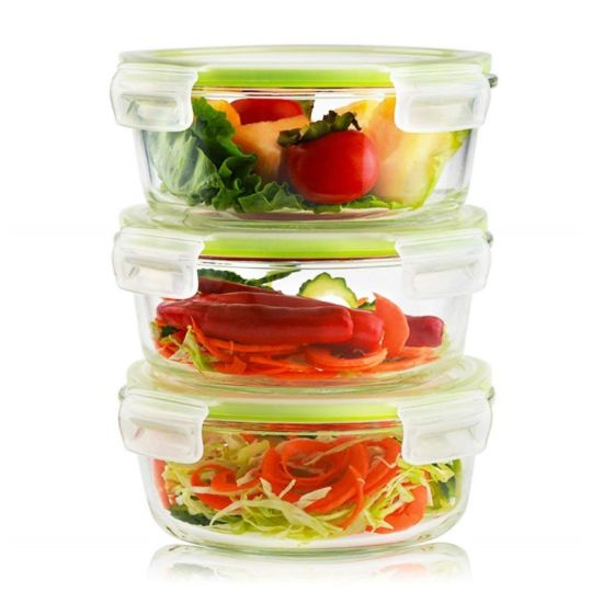Glass Food Storage Container Fresh Glass Lunch Bowl pictures & photos