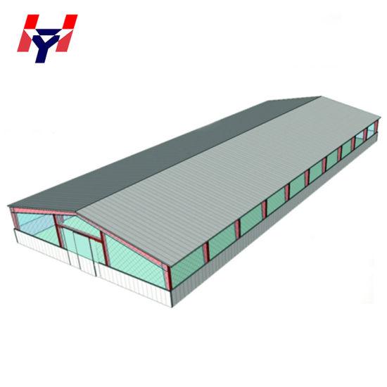 Prefabricated Steel Structure Badminton Court
