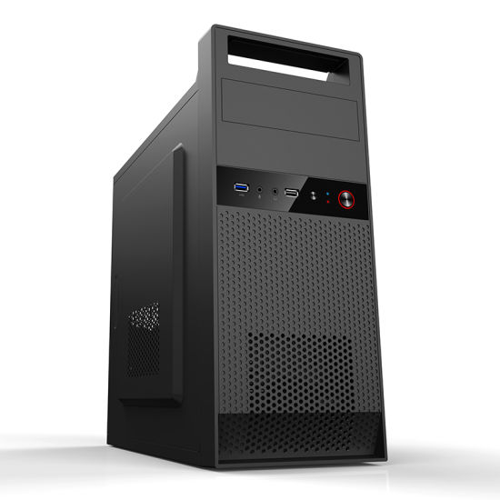 Black Matx Computer Case with Lifting Handle