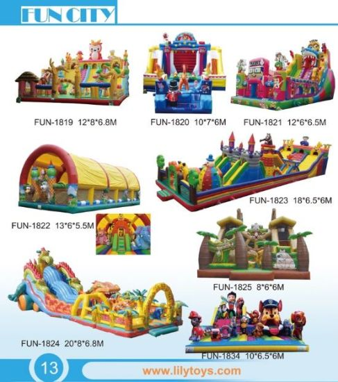 Customized Inflatable Big Bouncer Jumping pictures & photos