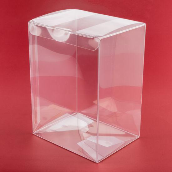 Auto Bottom Soft Crease Pet Plastic Transparent Acetate Box