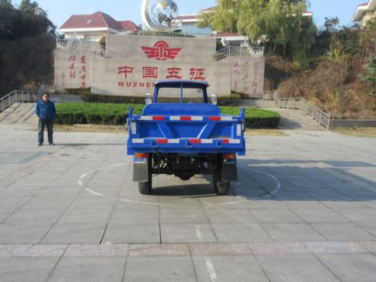 Waw Open Waw Diesel Motorized Cargo Three Wheel Truck for Sale From China pictures & photos