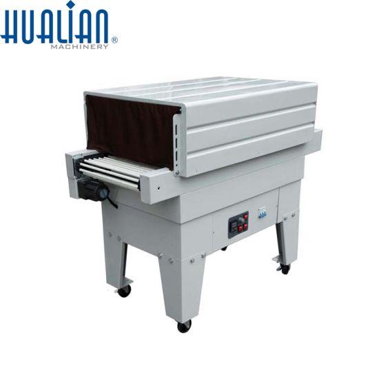 BS-4525A Hualian Food Manual Automatic PE Film Heat Shrink Packing Machine