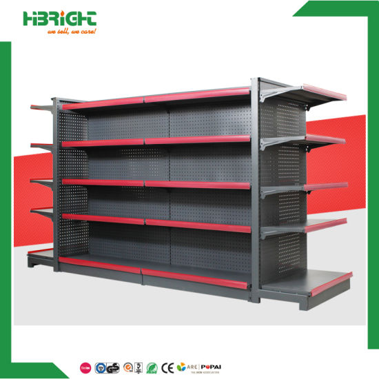 Double Sided Gondola Supermarket Display Rack pictures & photos