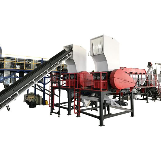 2021 PE Washing Machines/Drying System/Cleaning Line/Floating Washer/Bottle Crusher/Newest High Speed Pet Woven Bag Film Foam PP Waste Plastic Recycling Machine