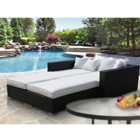 Pool Beach Holiday Resort Garden Furniture Lounger Sofa Chair pictures & photos