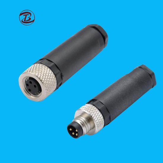 d336a0b4b962 China Long History Products Waterproof Metal M8 Connector - China ...